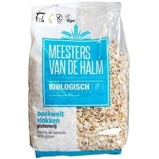 De Halm Buckwheat Flakes, Organic, 500 grams