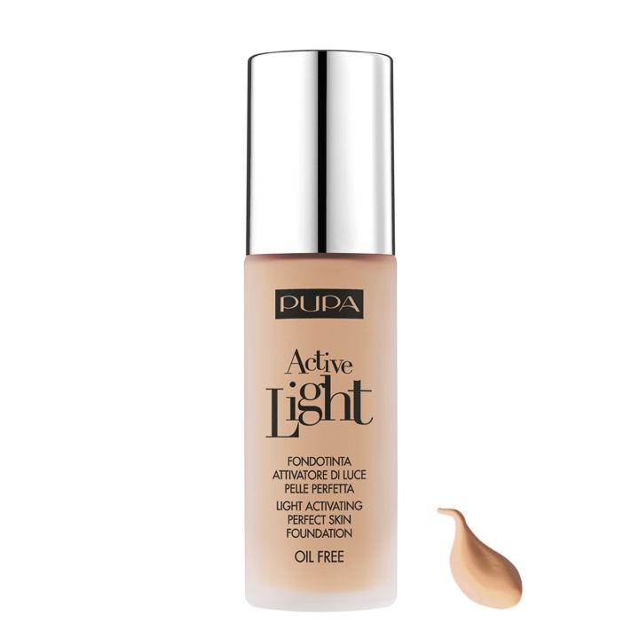 Pupa Milano Active Light Foundation 030 - Natural Beige