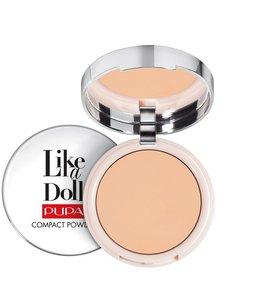 Pupa Milano Like a Doll Compact Powder 004 - Warm beige