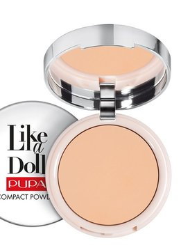 Pupa Milano Like a Doll Compact Powder 004 - Warm beige