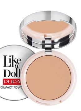 Pupa Milano Like a Doll Compact Powder 005 - Golden Honey