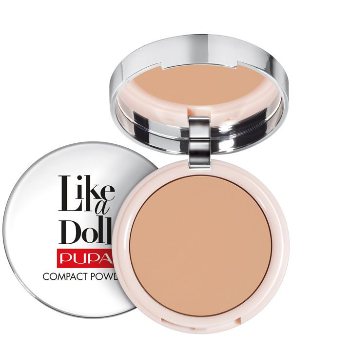 Pupa Milano Like a Doll Compact Powder 005 - Golden Honey