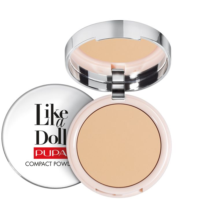 Pupa Milano Like a Doll Compact Powder 009 - Golden Sand