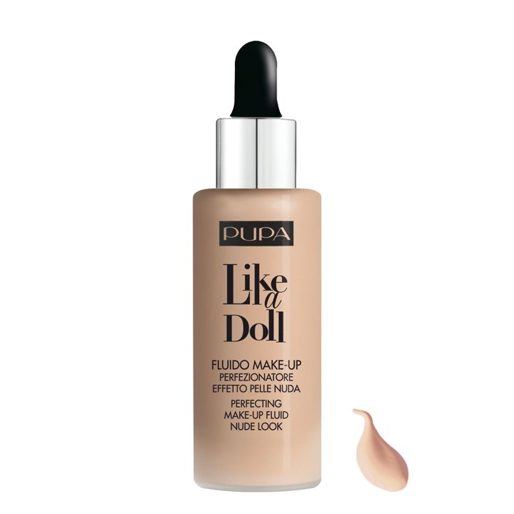 Pupa Milano Like a Doll Make-Up Fluid 020 - Light Beige