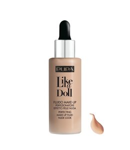 Pupa Milano Like a Doll Make-Up Fluid 030 - Natural beige