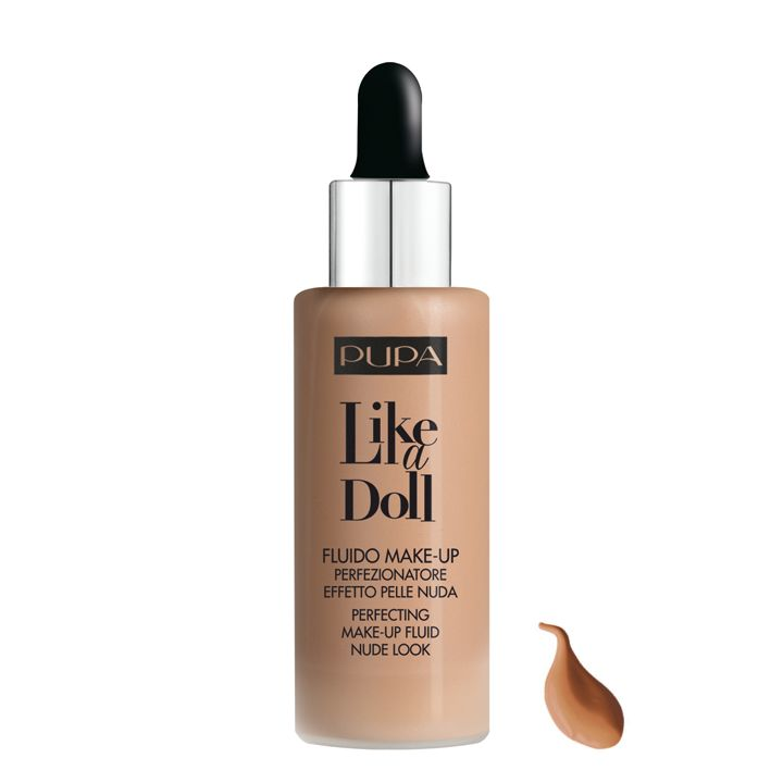 Pupa Milano Like a Doll Make-Up Fluid 060 - Golden Beige