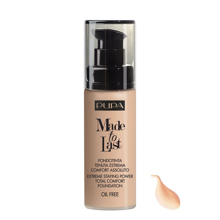 Pupa Milano Made To Last Foundation 020 - Light Beige
