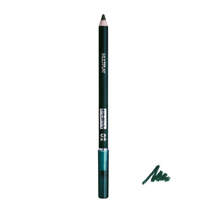 Pupa Milano Multiplay Pencil 02 - Electric Green