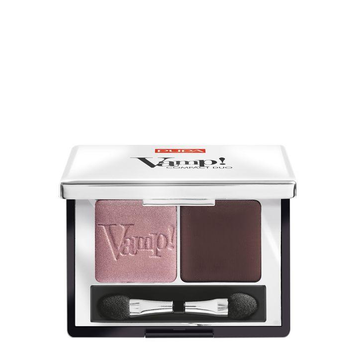 Pupa Milano Vamp! Compact Duo Eyeshadow 002 - Pink Earth