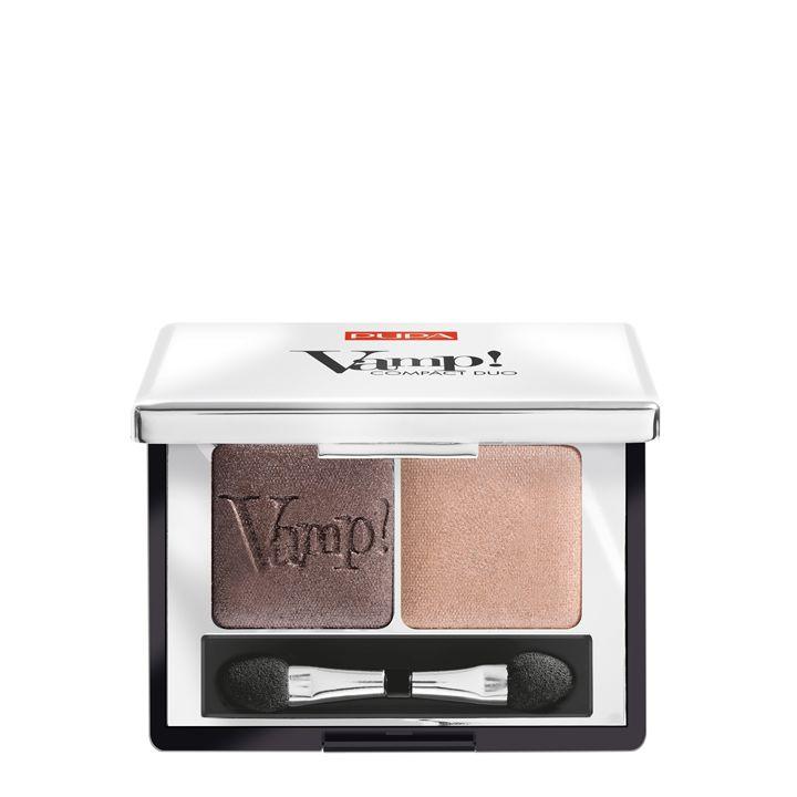 Pupa Milano Vamp! Compact Duo Eyeshadow 004 - Bronze Amber