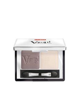 Pupa Milano Vamp! Compact Duo Eyeshadow 006 - Brown Vanilla