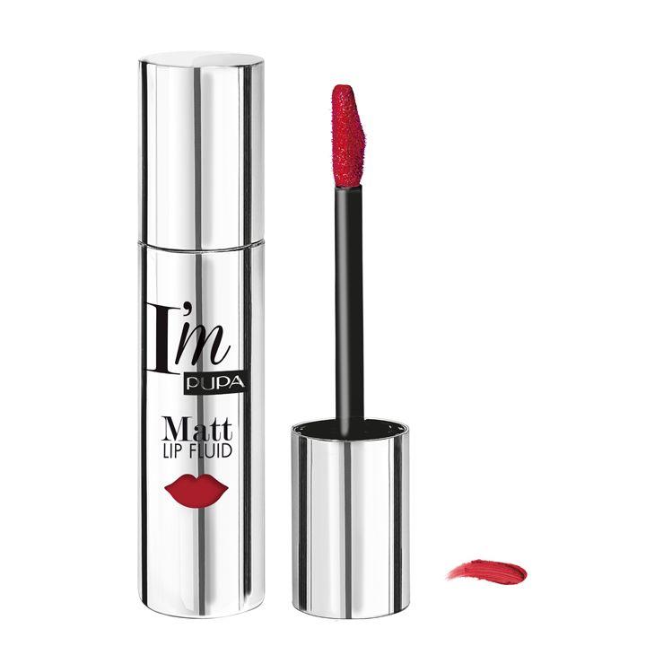 Pupa Milano I'm Matt Lip Fluid 051 - Diva's Red