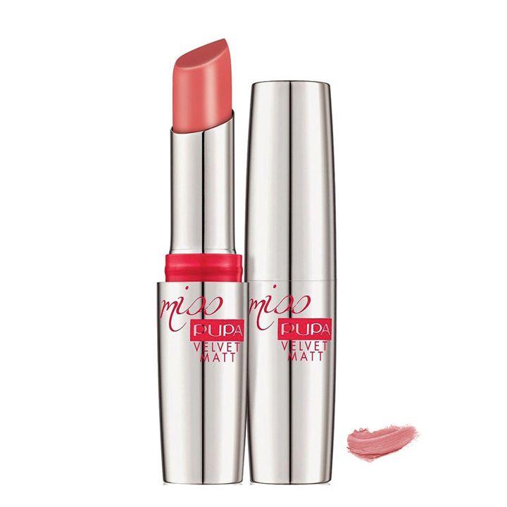 Pupa Milano Miss Pupa Velvet Matt Lipstick 200 - Candy Pink