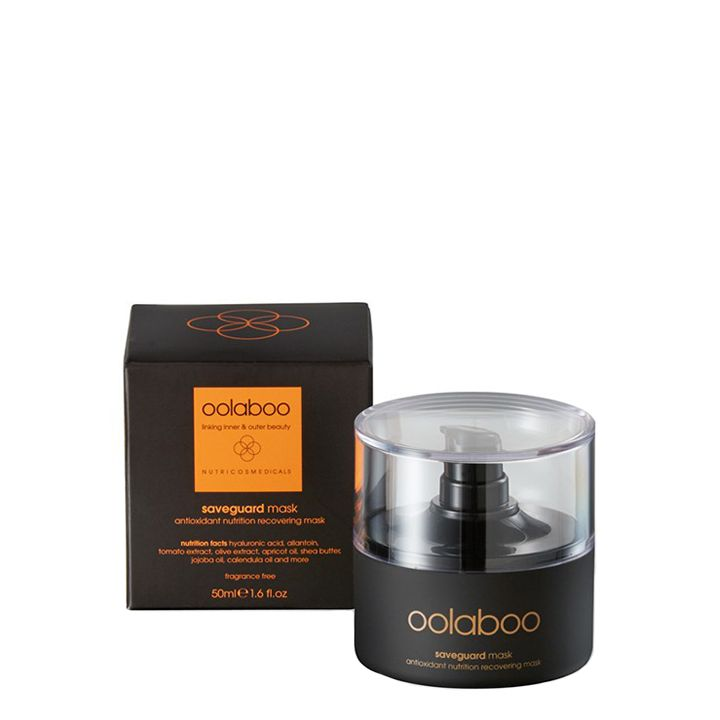 Oolaboo Saveguard Antioxidant Nutrition Recovering Mask