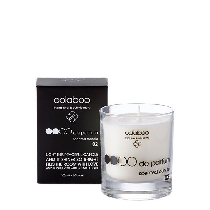 Oolaboo Oooo De Parfum Scented Candle 02 - Sandelwood