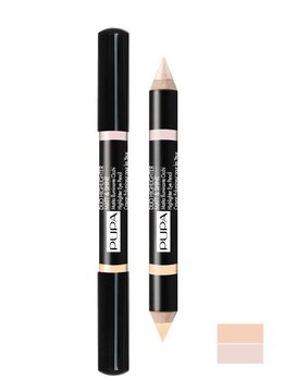 Pupa Milano Duo Highlighter Matt & Shine 001