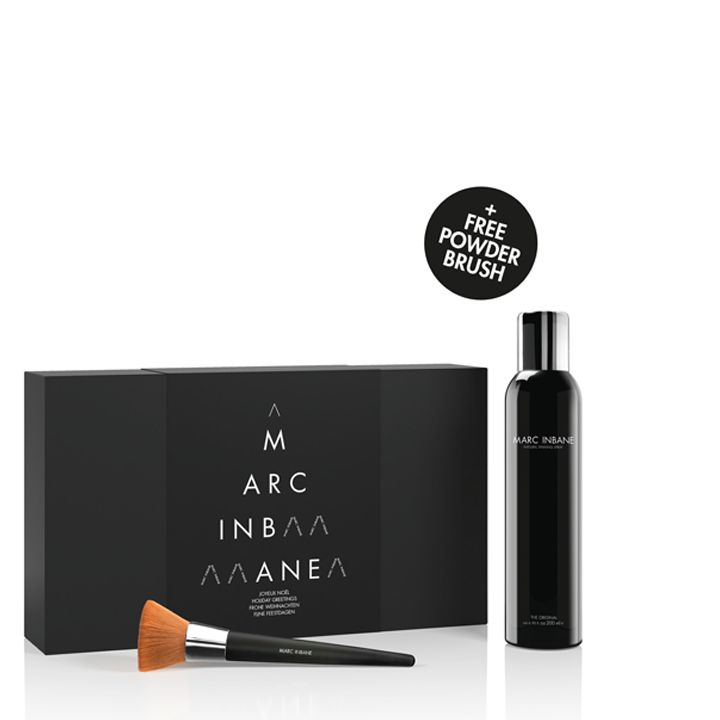 MARC INBANE Natural Tanning Spray + Gratis Brush in Luxe box