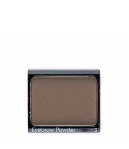 John van G Eyebrowpowder 2 darkbrown