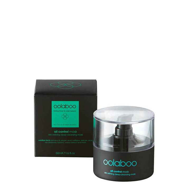 Oolaboo Oil Control Skin Refining Deep-Cleansing Mask