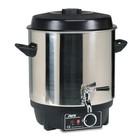 SARO Glühwein ketel, warmwaterketel 25 liter