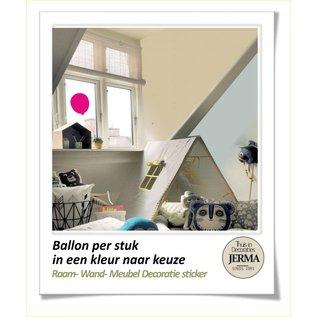 JERMA decoraties Ballondecoratie raamdecoratie sticker, muurdecoratie sticker.