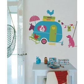 Kinderkamer decoratie stickers thema Vakantie