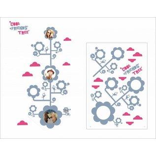 DecoKids.nl levensboom decoratie vriendenboom decoratiesticker