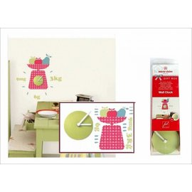 Kinderkamer decoratie stickers Klok met decoratie stickers