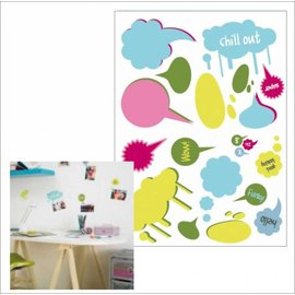 DecoKids.nl Decoratiestickers Tekst ballon decoratie sticker