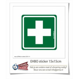 Allerhandestickers.nl EHBO pictogram sticker