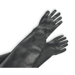 CONTRACOR Straalhandschoenen rubber   600/800 mm.