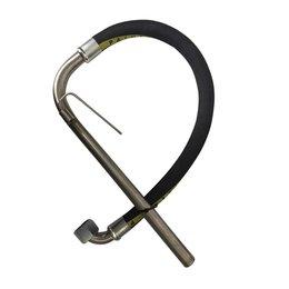 AANZUIGSLANGEN | STAINLESS STEEL | 90° | M36x2