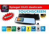 DUO DASH CAM 1080 HD GPS WIFI