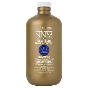 Nisim Shampoo geschikt voor normaal tot vet - Sulfaat- en parabeenvrij - 1 liter