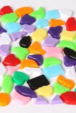 Kunststof mozaieksteentjes 1000 gram