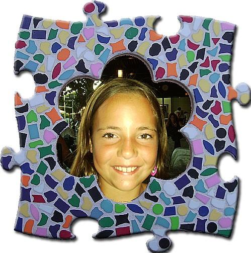 Cristallo Mozaiekpakket Fotolijst Vario Bloem