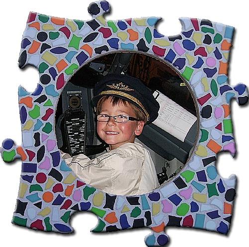 Mozaiekpakket Fotolijst Vario Cirkel