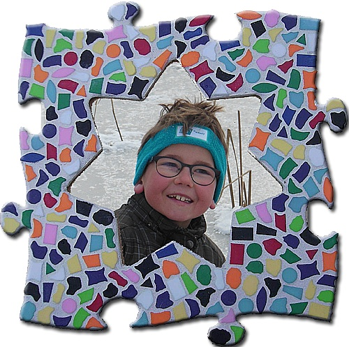 Cristallo Mozaiekpakket Fotolijst Vario Ster