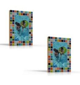 Cristallo Mozaiekpakket set/2 Fotolijstjes Mozaiek