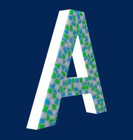 Design Fris, Letter A