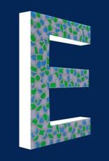 Mozaiekpakket Letter E Fris