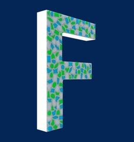 Design Fris, Letter F