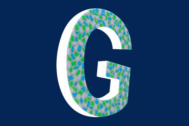 Cristallo Mozaiekpakket Letter G Fris