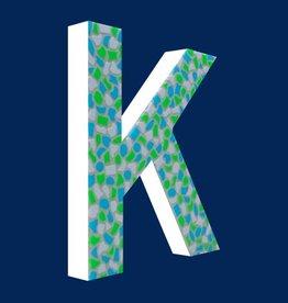 Cristallo Design Fris, Letter K