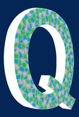 Cristallo Mozaiekpakket Letter Q Fris