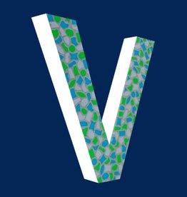 Cristallo Design Fris, Letter V