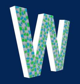 Cristallo Design Fris, Letter W