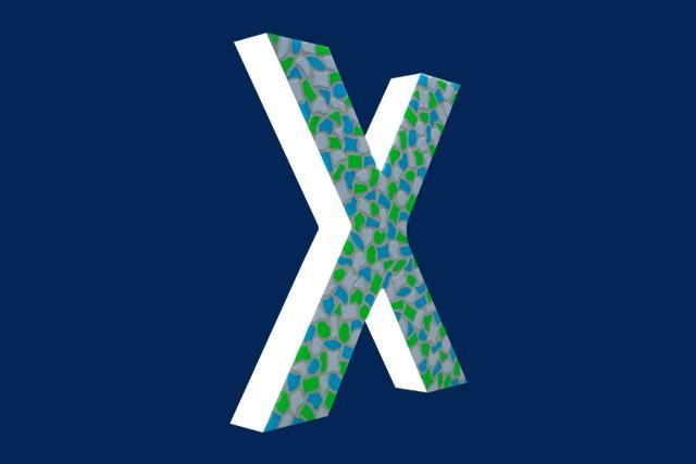 Cristallo Mozaiekpakket Letter X Fris