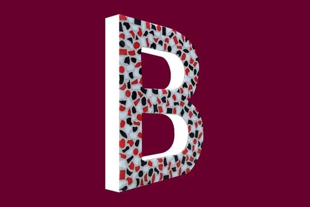 Cristallo Mozaiekpakket Letter B Stoer