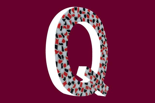 Cristallo Mozaiekpakket Letter Q Stoer